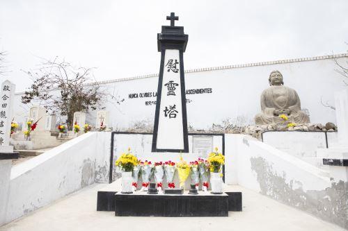 En Cañete se estableció uno de los primeros cementerios de inmigrantes japoneses.