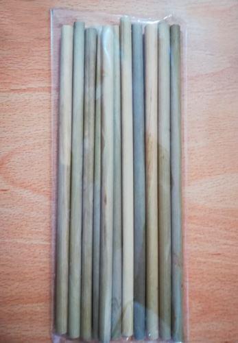 Las cañitas de bambú se venden en Lima y otros ciudades como Iquitos y Tingo María.