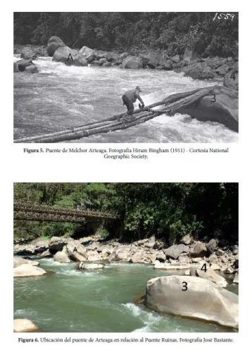 Se han hallado evidencias de la ruta que siguió Hiram Bingham para llegar a Machu Picchu.