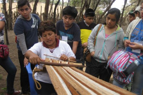 Los pobladores de la zona harán demostraciones en confección de tejidos de algodón nativo.