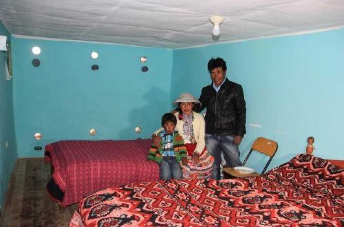 Foncodes acondiciona 157 'casitas calientes' en las zonas altas de la región Arequipa, para proteger a sus ocupantes frente a las heladas.