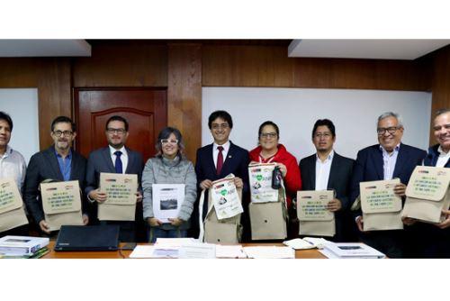 Los ministros de Cultura, del Ambiente y de Comercio Exterior y Turismo participaron en la sesión extraordinaria del Comité Directivo de la Unidad de Gestión del Santuario Histórico de Machu Picchu.