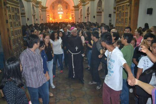 El arzobispo de Trujillo y presidente de la Conferencia Episcopal Peruana, monseñor Miguel Cabrejos, recorrerá junto a los fieles las siete iglesias.