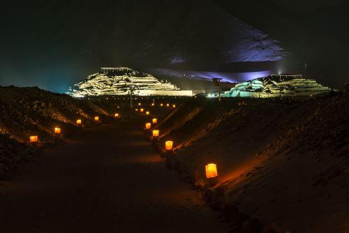 La Ciudad Sagrada de Caral, considerada el centro de civilización más antiguo de toda América.