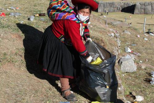 Durante su mes jubilar, la ciudad del Cusco segrega gran cantidad de desechos por el incremento de visitantes.