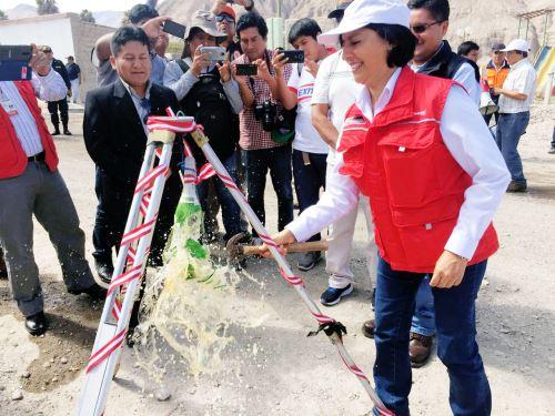 Se invertirá S/ 1.5 millones en diversas obras en Tacna que generarán 1,205 empleos temporales.