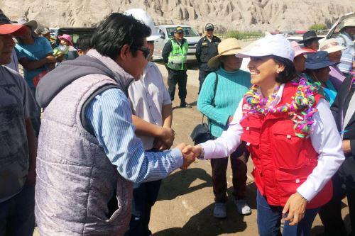 Ministra de Trabajo, Sylvia Cáceres, anunció que Tacna será una de las regiones beneficiadas con empleo.