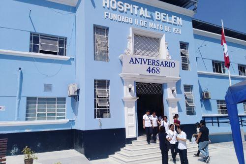 En el Hospital Belén de Trujillo (La Libertad) están internados 20 pacientes con el síndrome de Guillain-Barré.