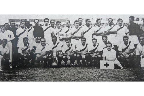 Perú, invicto, fue campeón sudamericano en 1939