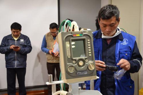 El Hospital Daniel Alcides Carrión de Huancayo cuenta con más de 500 unidades de inmunoglobulina y cuatro modernos ventiladores mecánicos cardiacos para la atención de los pacientes con Guillain-Barré.