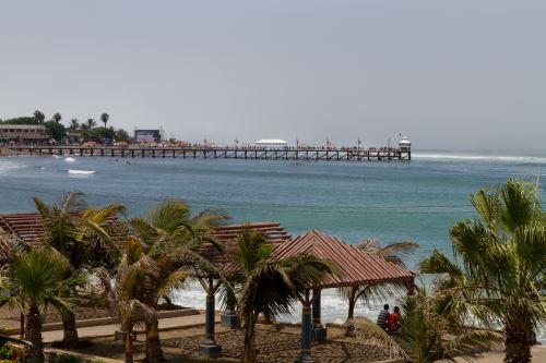 Balneario de Huanchaco, región La Libertad.