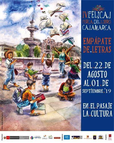 Más de 40,000 visitantes espera recibir la IV Feria del Libro de Cajamarca (Felicaj).
