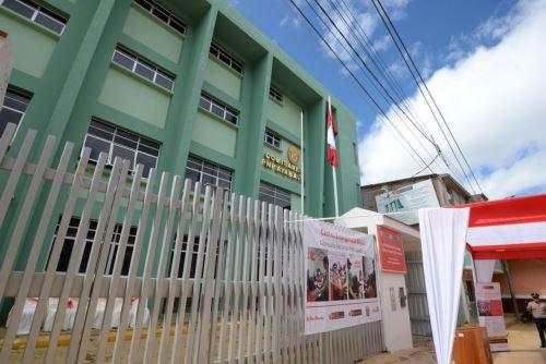 En la comisaría sectorial Ayabaca, región Piura, el Mimp inauguró un Centro Emergencia Mujer.