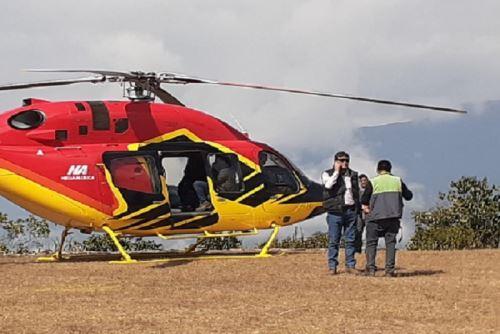 La DDC del Cusco ha solicitado información a la empresa Heliamerica SAC, propietaria del helicóptero que aterrizó en Choquequirao.
