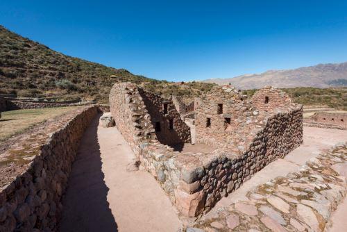 El parque arqueológico Tipón está ubicado en la provincia cusqueña de Quispicanchi.