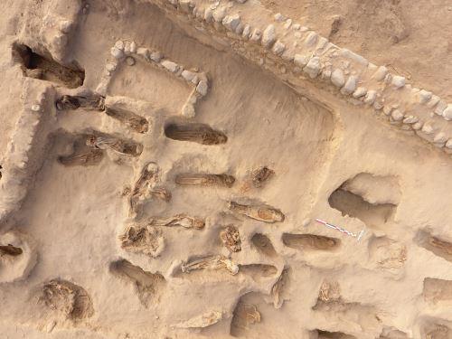 Los estudios de los huesos de los niños sacrificados en Huanchaco tendrían edades de entre 4 y 12 años.