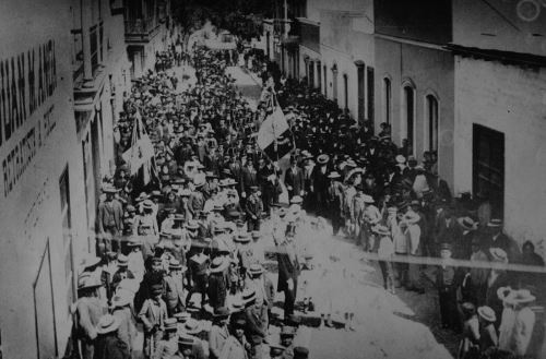 Imagen histórica de Tacna de 1901 durante la ocupacio´n chilena. Foto: Casa Museo Jorge Basadre.