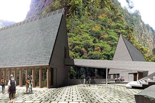 La construcción del centro de investigación e investigación de Machu Picchu se realiza por recomendación de la Unesco.
