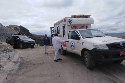 Gracias al esfuerzo del niño llegaron los paramédicos para atender al herido.