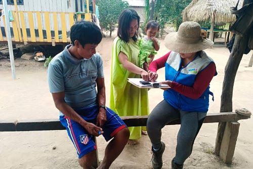 El Programa Nacional Cuna Más inició la atención a 262 familias de las comunidades que comprenden la Central Asháninka del Río Ene.