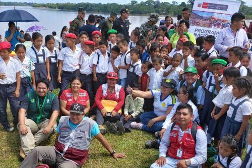 El Programa Nacional PAIS del Midis llegó al distrito Teniente Manuel Clavero, provincia de Putumayo, región Loreto.