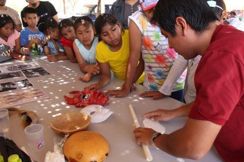 Como parte de la iniciativa Museos Abiertos, se organizan variadas actividades, como talleres artísticos para niños.
