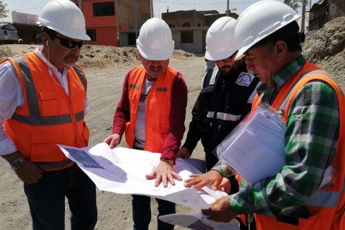 Los estudios geofísicos permitirán la adecuada planificación, diseño y construcción del nuevo puente Solivín sobre el río Nepeña (Áncash).