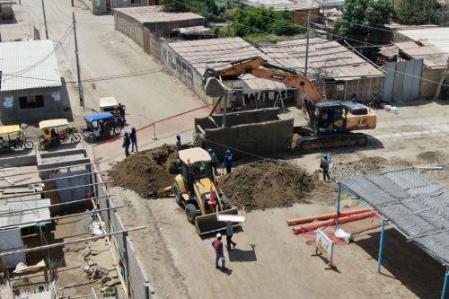 Se ejecutarán pistas y veredas, calles, caminos vecinales, puentes, instituciones educativas, entre otras obras de reconstrucción.