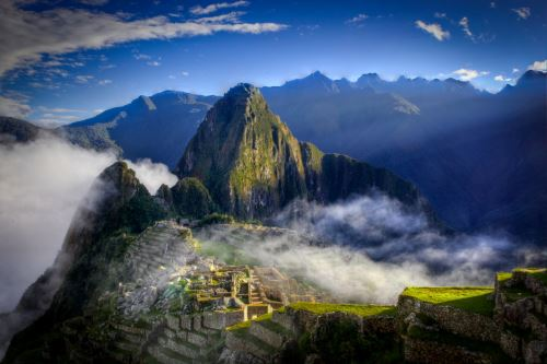 El comerciante suarense Darío Salotti eligió Machu Picchu porque lo considera un lugar con muy buena vibra.