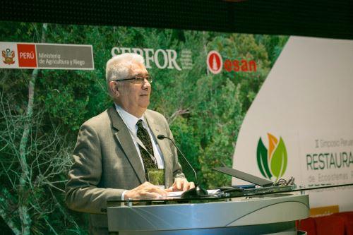 El director ejecutivo del Serfor, Alberto Gonzales-Zúñiga,informó que en el Perú existen más de 3.2 millones de hectáreas de tierra degradada.