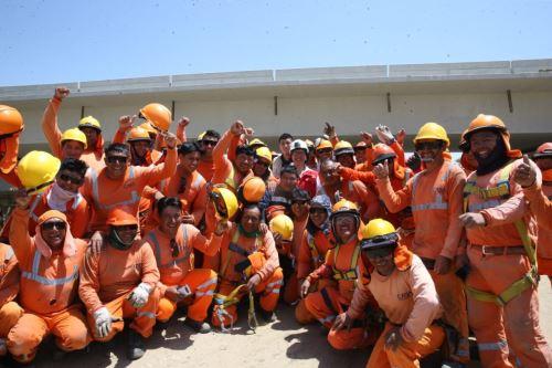 El programa Trabaja Perú del MTPE está generando 339 empleos temporales en Piura, cerca de tres veces más que en 2018.