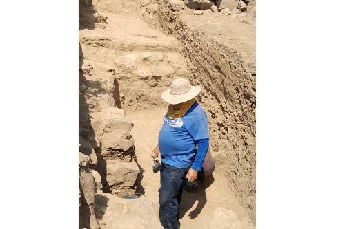 Las excavaciones permitieron determinar que en la época del Formativo se registraron esencialmente tres fases constructivas.