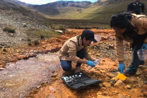 Por presunta contaminación con pasivos mineros está restringido el uso del agua para consumo humano, ganadero y de regadío en el distrito de Pampas, provincia de Pallasca.