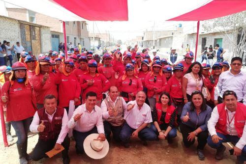 El viceministro de Promoción del Empleo y Capacitación Laboral, Javier Palacios, visitó los distritos de Pátapo y Pueblo Nuevo, así como la provincia de Ferreñafe.