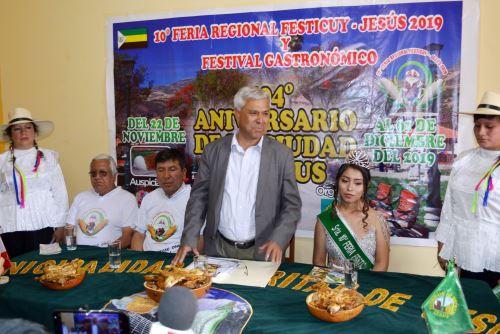 El pintoresco distrito de Jesús, en la región Cajamarca, será escenario del X Festival del Cuy.