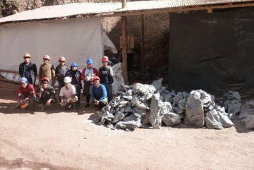 La explotación de rocas y minerales industriales en Apurímac contribuirá a la generación de más  puestos de trabajo.