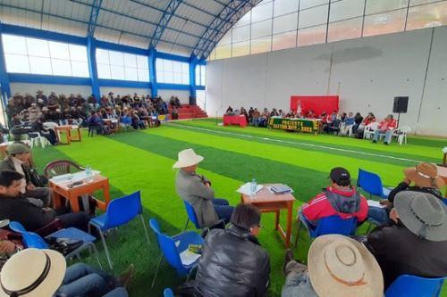 Desde marzo más de 1,200 personas de las provincias apurimeñas de Cotabambas y Grau empezarán a recibir el pago por las áreas que serán utilizadas para las obras en el Corredor Vial Sur.