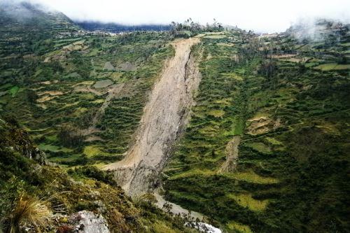 El Instituto Geológico, Minero y Metalúrgico identificó 58 zonas críticas por peligros geológicos en la región Junín.