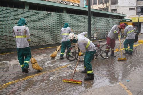 Limpieza e higiene pública