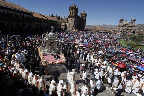 Durante la celebración del Corpus Christi en Cusco es tradicional consumir el chiriuchu.
