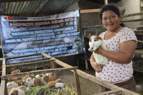 Avanzar Rural se ejecutará en 101 distritos de los departamentos de Amazonas, Áncash, Cajamarca, Lima y San Martín.