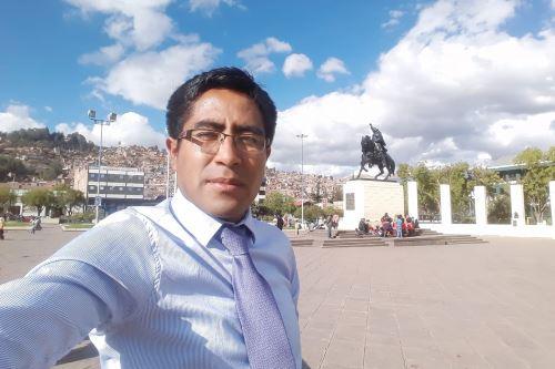 El docente Juan Quispe Aguilar es natural de la provincia de Canchis, región Cusco.