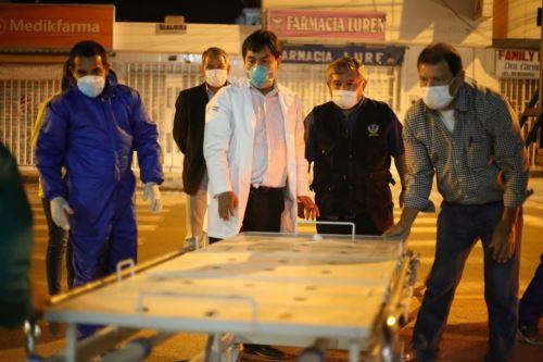 La Geresa Arequipa entregó diez camas clínicas al Hospital de Camaná.