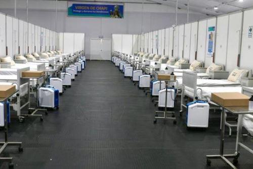 El equipo técnico y multidisciplinario del Minsa continúa en Arequipa para brindar soporte en el traslado de pacientes covid-19 a los centros de hospitalización temporal.