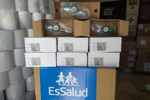 EsSalud ha enviado hasta el momento 1.5 toneladas de equipos de protección personal al departamento de Ayacucho.