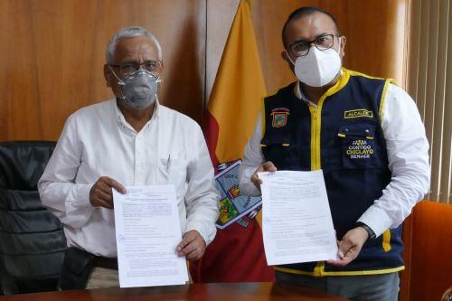El gobernador regional de Lambayeque, Anselmo Lozano Centurión, ratificó su compromiso de unir esfuerzos con los municipios.