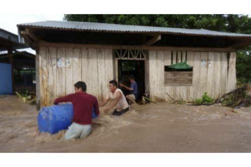 Es necesaria la implementación de un monitoreo temporal del cauce del río Shanusi ante el grave riesgo de erosión e inundación.