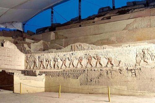 Complejo arqueológico El Brujo, región La Libertad.
