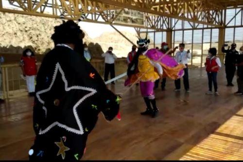 La cultura está de fiesta en Túcume con el estreno de la cobertura de la sala de Los Depósitos.