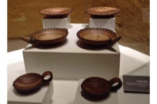 El recorrido en el Museo Santuarios Andinos consta de cinco salas de exhibición.